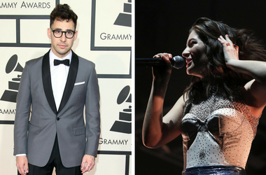 Lorde and Jack Antonoff of Bleachers