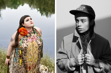 Beth Ditto and Tash Sultana