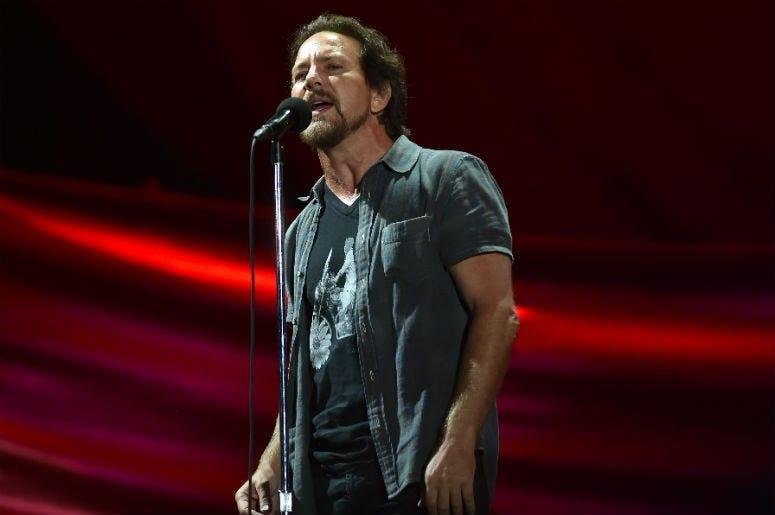 Eddie Vedder of Pearl Jam