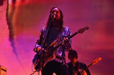 Kevin Parker of Tame Impala performs onstage during the 2017 Panorama Music Festival