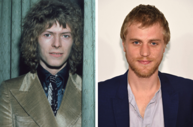 David Bowie in 1970 and Johnny Flynn