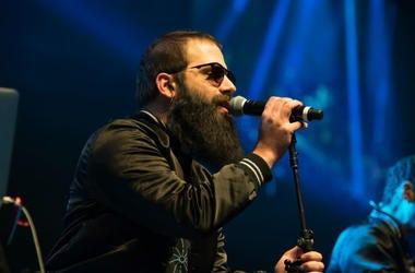 Sebu Simonian of Capital Cities performs as part of Radio 94.7's Electric Christmas at Sleep Train Arena in Sacramento, California on December 4, 2013