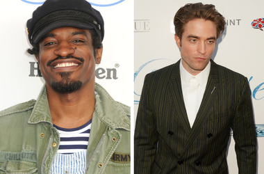 Andre 3000, Andre Lauren Benjamin, Outkast. 2015 Film Independent Spirit Awards / Robert Pattinson at the Los Angeles Premiere of Magnolia's DAMSEL