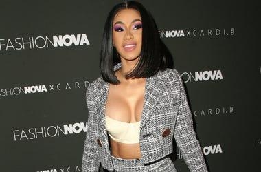 Cardi B, Fashion Nova x Cardi B Collaboration Launch Event, held at Boulevard3.
