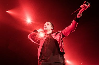 G-Eazy performs at Oracle Arena on December 14, 2016 in Oakland, California.