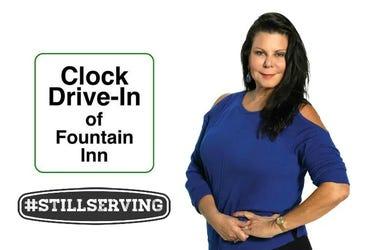 The Clock Drive-In of Fountain Inn