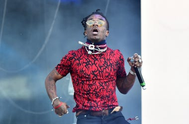 Lil Uzi Vert performing on the third day of the Wireless Festival, in Finsbury Park, north London.
