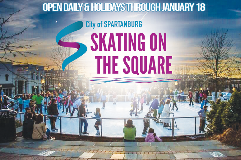 Skating on the Square