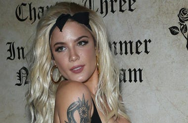 28 July 2018 - Las Vegas, NV - Halsey. Halsey Hosts Playboy's Midsummer Night's Dream at Marquee Nightclub inside The Cosmopolitan of Las Vegas.