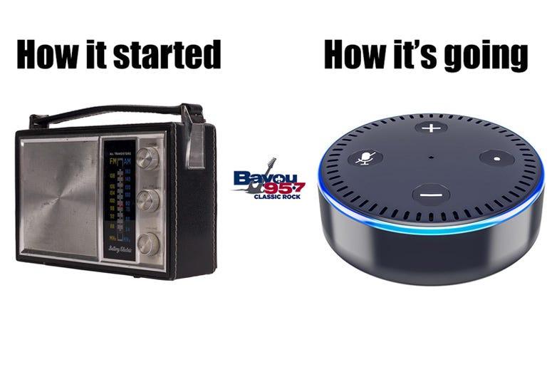 bayou is on smart speakers