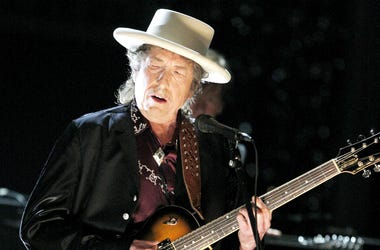 Bob Dylan Performs onstage during the 37th AFI Life Achievement Award