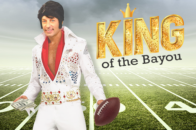 John Osterlind King of the Bayou football challenge