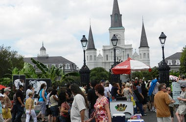 Jackson Square French Quarter Fest