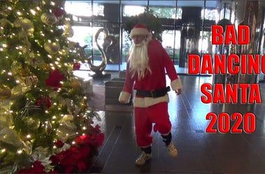 bad dancing santa