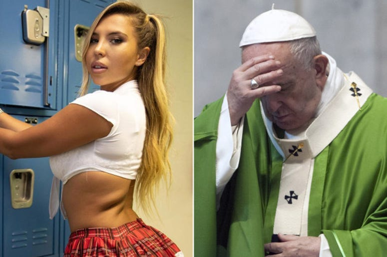 Osterlind: The Pope's Instagram 'Liked' Racy Photo