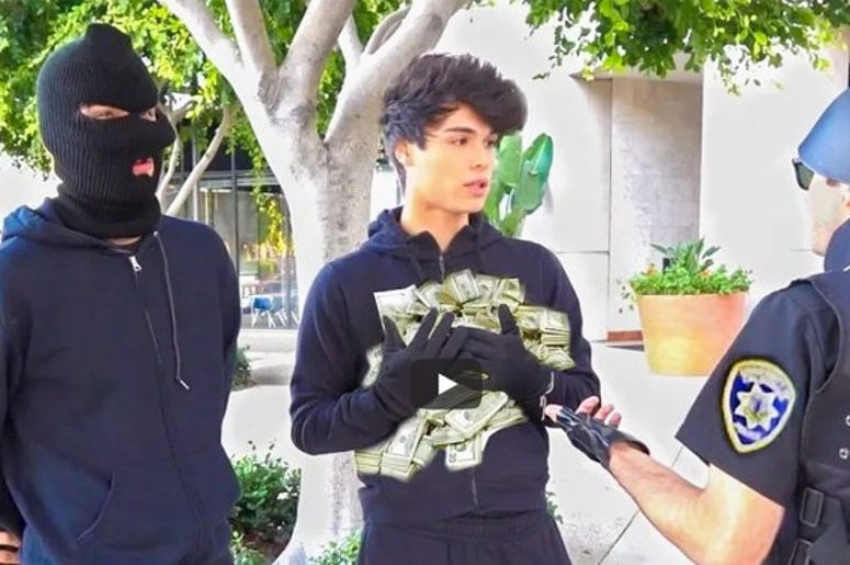 Twin YouTube Stars Alan and Alex Stokes Charged with Felonies After Staging Bank Robbery Pranks
