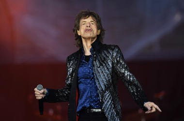Mick Jagger of The Rolling Stones performs live on stage on the opening night of the european leg of their No Filter tour