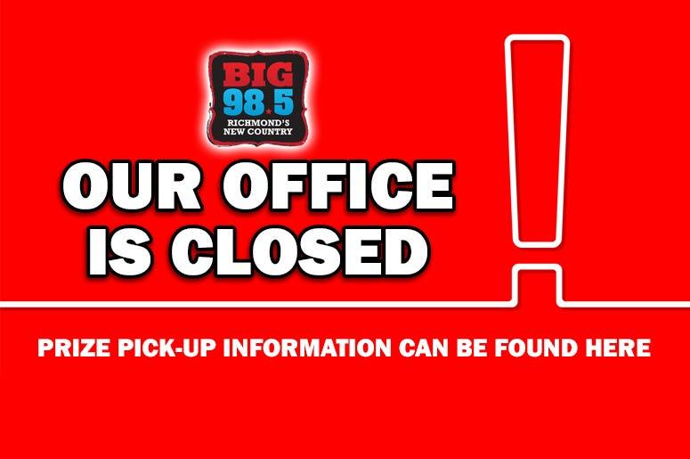 Big 98.5 Closed