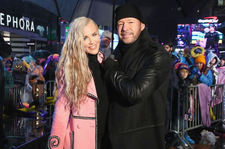 Donnie Whalberg and Jenny McCarthy