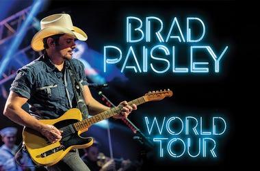 brad paisley tour