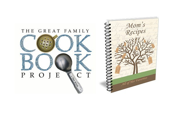 family cookbook prokect