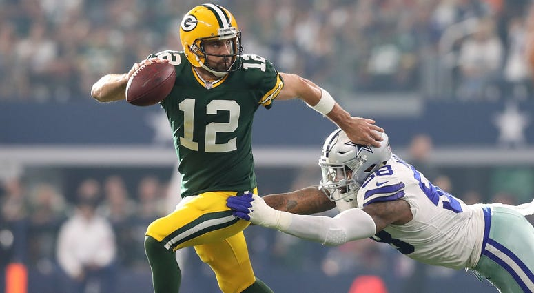 Aaron rodgers in Dallas