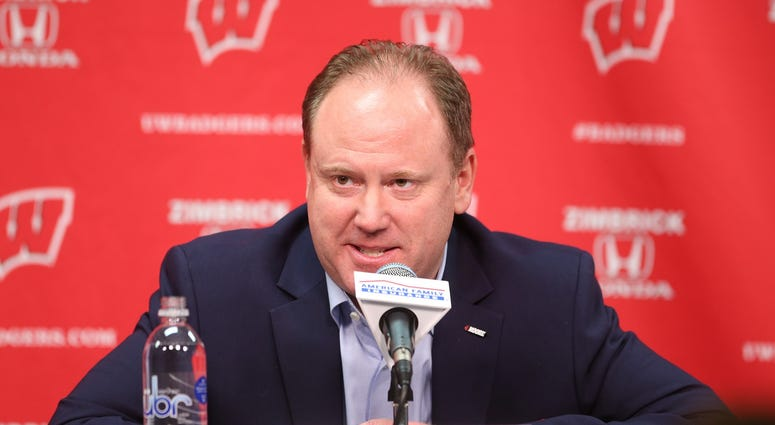 Greg Gard Wisconsin Badgers Head Coach