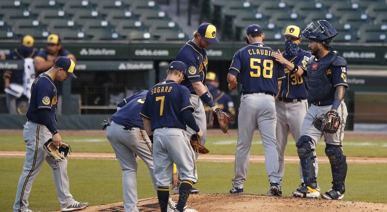 Craig Counsell lifts Alex Claudio