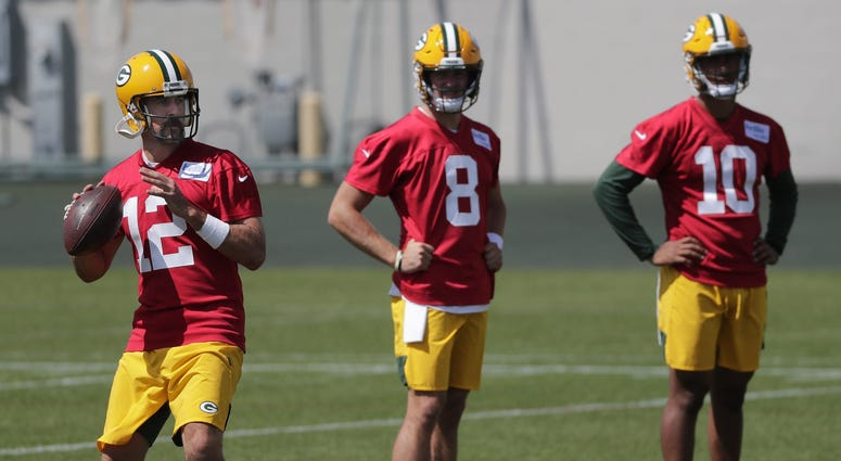 Packers QBs get some work in training camp