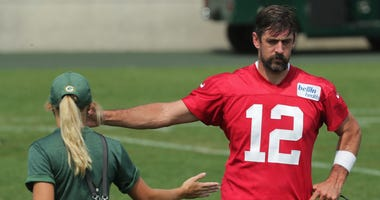 Rodgers at Packers training camp