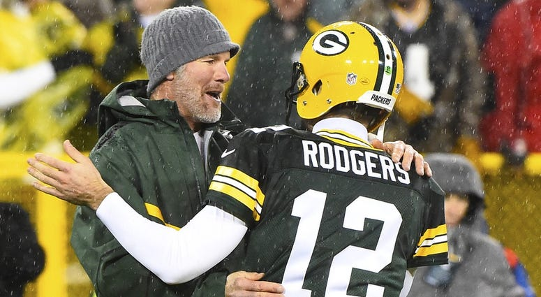 Favre and Rodgers