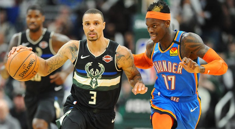 George Hill Milwaukee Bucks