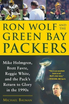 """""""Ron Wolf and the Green Bay Packers"""" book"""