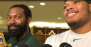 Packers ZaDarius Smith and Preston Smith