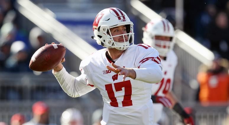 Wisconsin Badgers Quarterback Battle Jack Coan Graham