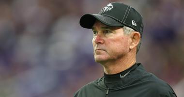 Minnesota Vikings Head Coach Mike Zimmer