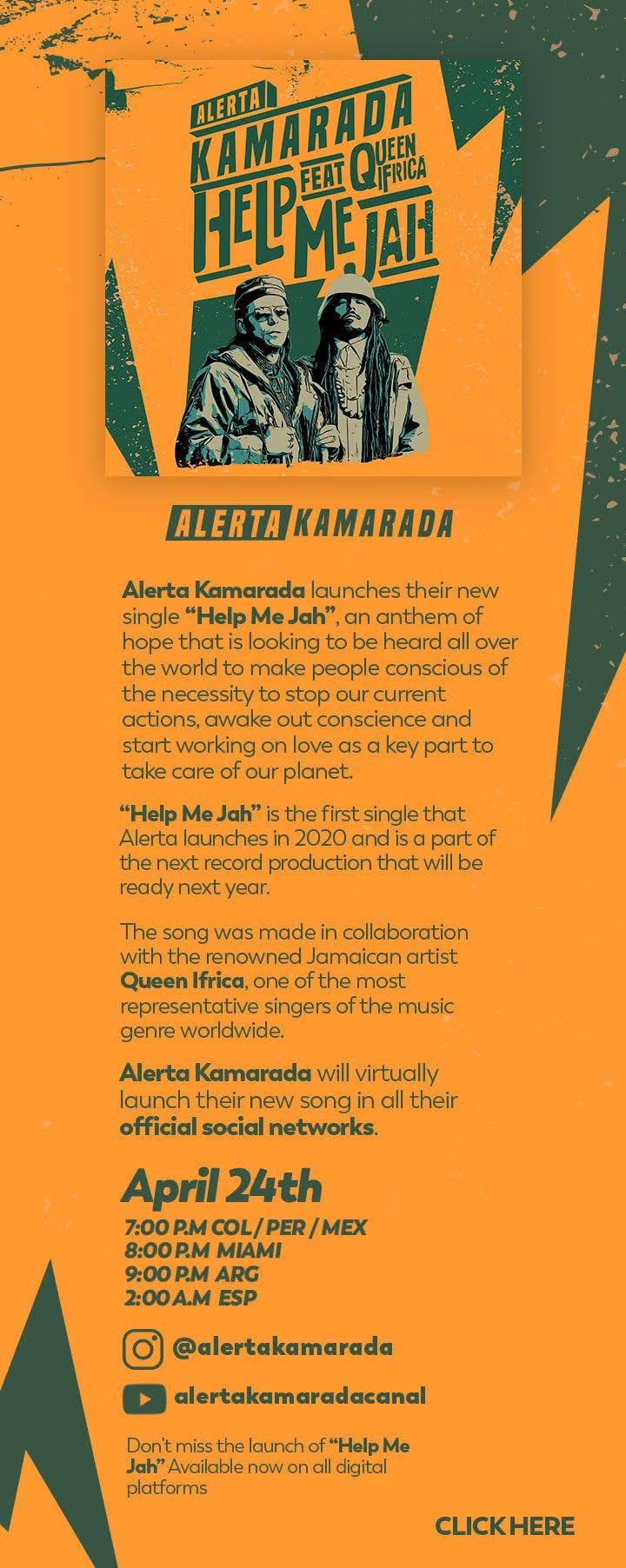 Alerta Kamarada - Help Me Jah Full