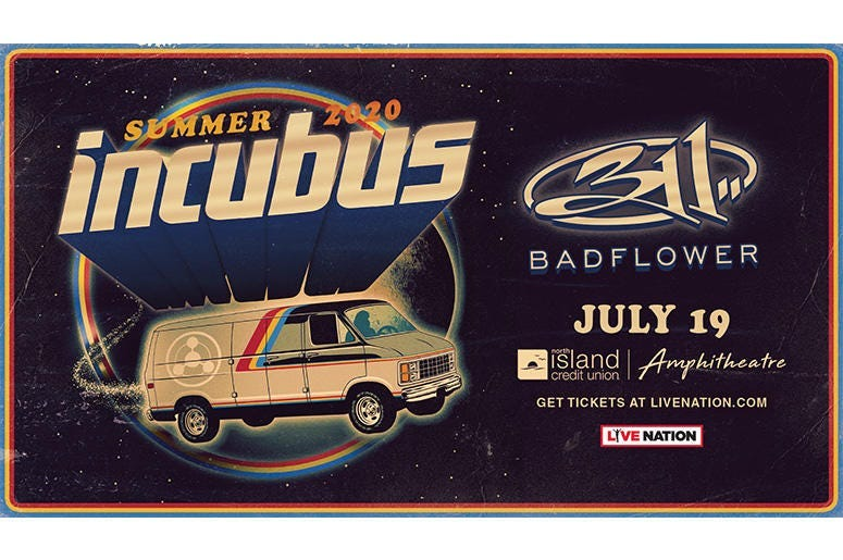 Incubus and 311