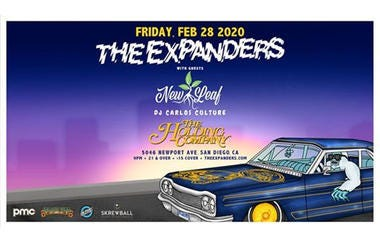 The Expanders, New Leaf and DJ Carlos Culture
