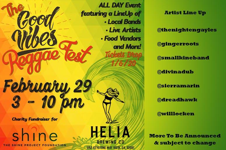 The Good Vibes Reggae Fest