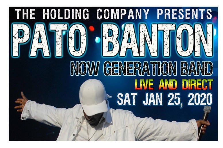 Pato Banton Live