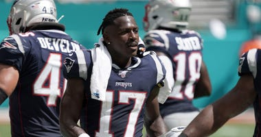 Antonio Brown Patriots