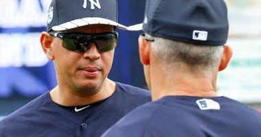 Alex Rodriguez Jor Girardi New York Yankees