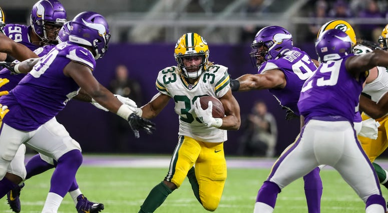Aaron Jones Packers