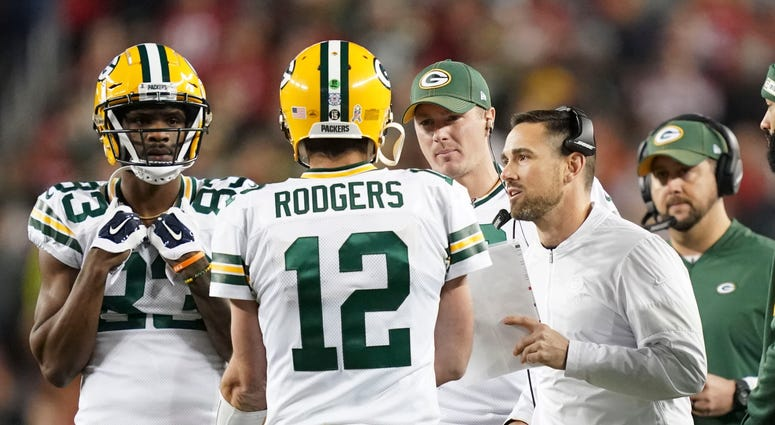 Aaron Rodgers Matt LaFleur Packers