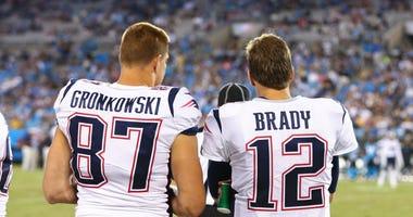 Brady Gronkowski Patriots