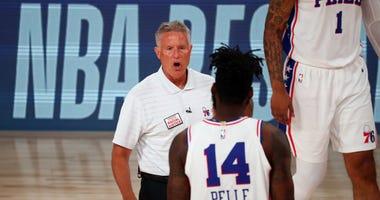 Philadelphia 76ers Brett Brown