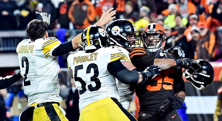 Browns Steelers brawl