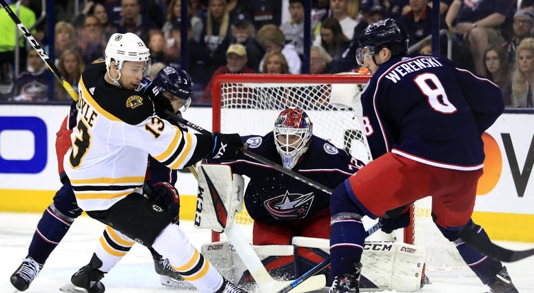 Boston Bruins Columbus Blue Jackets