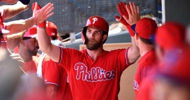 Bryce Harper Philadelphia Phillies Spring Training